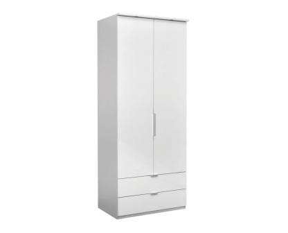 Elegance-Line-Wardrobe-90-White